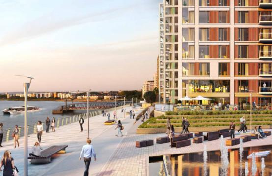 The Royal Arsenal Riverside Waterfront
