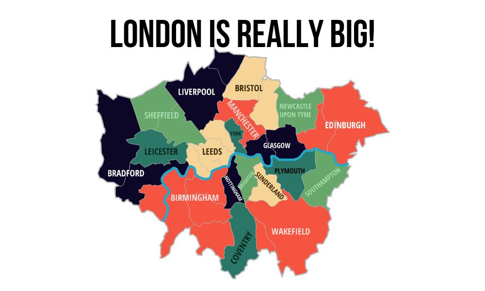 2021 London Property Outlook - Population-Density