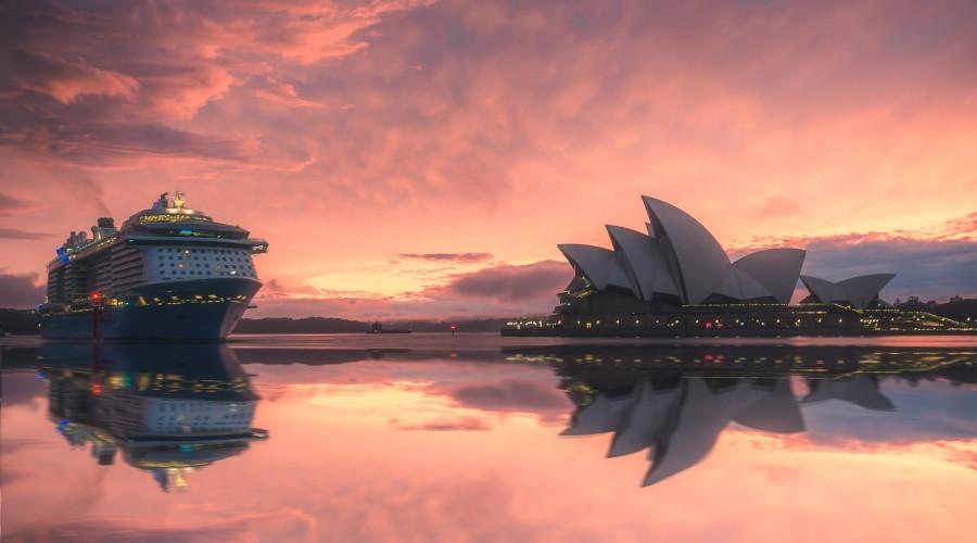 australia sydney view